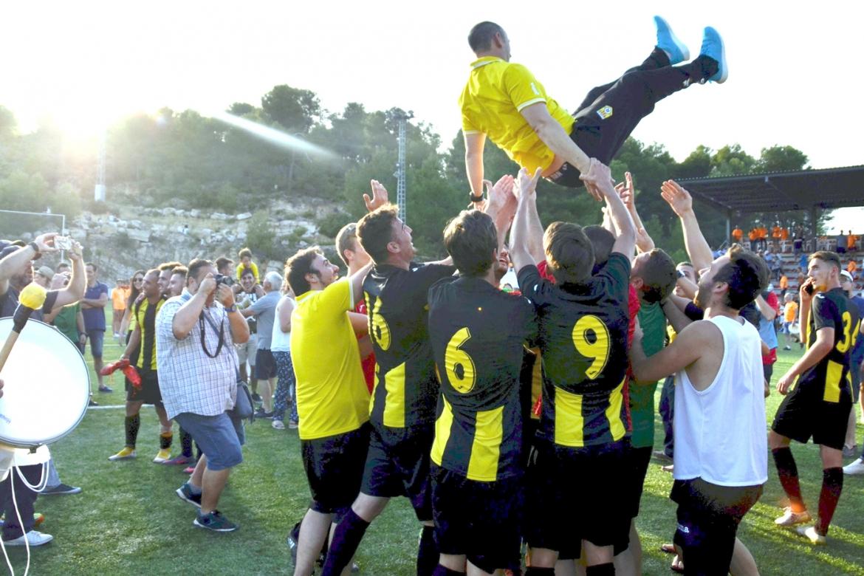 El CD Roda celebra su segundo año en Tercera
