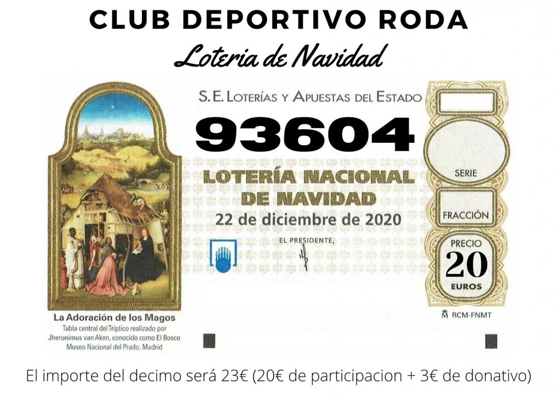 Consigue tu lotería del CD Roda